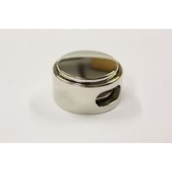 Snørelås - farven sølv