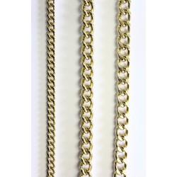 Kæde - Guldfarvet
