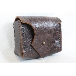 Håndsyet Bæltetaske